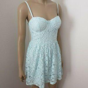 Abercrombie & Fitch Womens Lace Corset Sundress